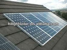 high quality price per watt monocrystalline silicon solar panel 300w with TUV CEC CE ISO IEC