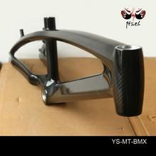1140g super light good quality 100% original HM carbon fiber bmx bicycle bike frame for sale