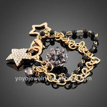Stylish fashion jewellery fashion stone fashion bracelet 2012