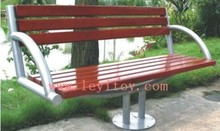 Wooden park bench for leisure LY-185D