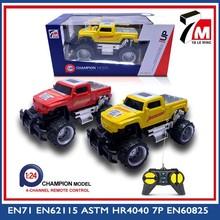 Plastic toy model 4 channels rc car radio control jeep