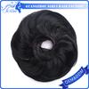 1pc hair bun chignon extension hairpieces big hair,black natural hair bun,human hair bun
