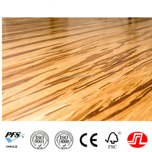 Carbonized And Natural Click lock Strand Woven Bamboo Floor tiles