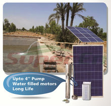price solar water pump for agriculture 100%DC Solar Powered-water filled motor No water pollution more than 15 years life