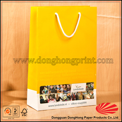 2015 Customized fashional style field paper bag photograph
