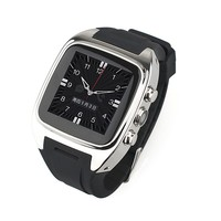 Wifi smart watch latest Watches Phone,Touch Screen,Metal Body,built in SIM card Android 4.2,2G/3G,WIFI,GPS,Camera,3g phone