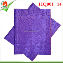 HQ001-14 Hot 2015 Fashion Pattern African Gele Headtie Latest Design 2 Pieces/Bag For African Women