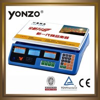 YONZO 30KG LED or LCD display avery berkel scales with blue color