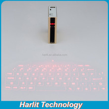 Wireless Virtual Laser Bluetooth Keyboard with Power Bank And TouchPad Function