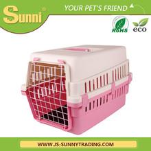 High quality customized pet transport box plastic kennels