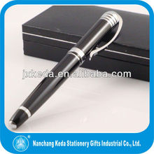 2014 Fine Wrinting Instrument Luxury metal blue pen with logo printed