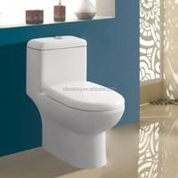 2015 new design one-piece sanitaryware toilet