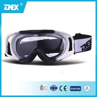 Double Color TPU Frame PC Transparen Lens Motorcycle Goggle MX Tear Off Goggles