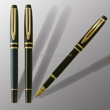 Fashionable Custom fountain pen with ink cartridge Iridium tip DW-F6021H