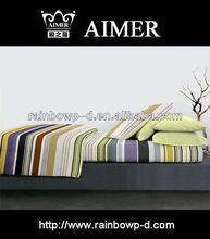Trade Assurance 100%cotton print 7pcs comforter bed sheet set/comforter/pillow cases