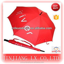 2015 Advertisng High Quality Golf Umbrella Lexus And Straight Golf Umbrella With Pouch