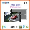 2014 venda quente 7.85 polegadas bluetooth dual câmera android 3g tablet pc adaptador bluetooth