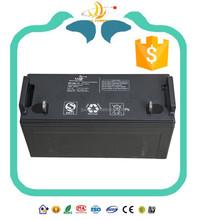 Most solar power supply gel cell batteries 12v with 12v100ah full certificates
