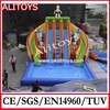 Inflatable slide for pool /water slide for adult