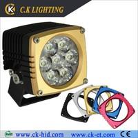 motorcycle auto light led spot lights 4x4 ip68