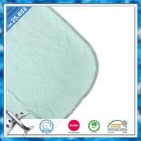 FAR25.853 100 polyester fire retardant fabric polar fleece airline blanket