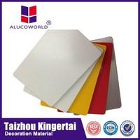 Alucoworld 4mm acp acm aluminium composite panel metal roof sheeting