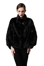 European New Style Ladies Nartural Fur Coats for Women