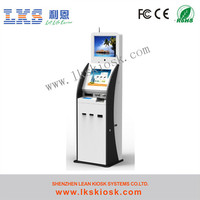 Internet Kiosk Touch Monitor With Dual Screen