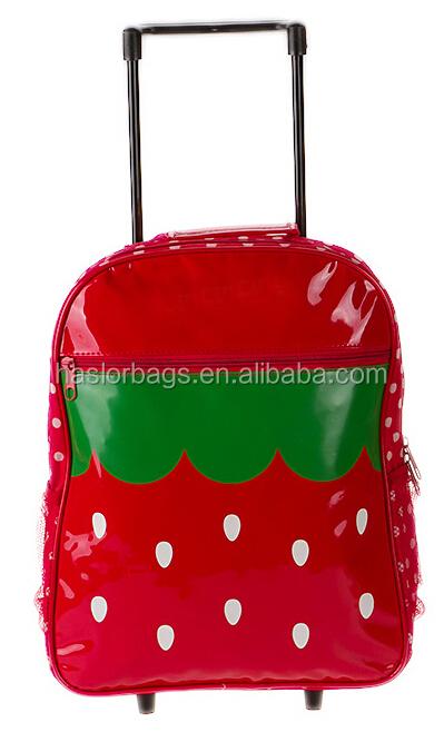 Enfants sac à roulettes de voyage avec un Design mignon