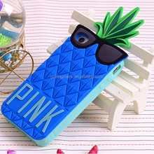 Hot Selling 3d Pineapple Cases for iPhone 6 6G 5G Phone Cases