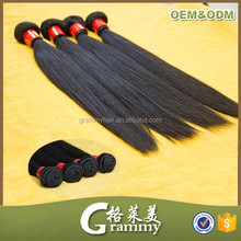Factory high quality innovative new products colored heat resistant best synthetic weave hair