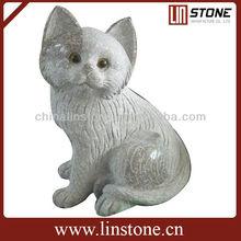 fangshan blanca estatua de mármol