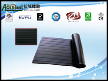 High Quality 3mm Thickness Anti Slip Wide Ribbed Rubber Flooring Mat