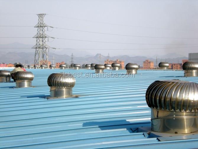 Picture Of Roof Ventilator Turbo : Mm powerless roof fan turbo ventilator buy industrial