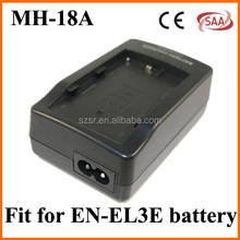 Factory manufacturer battery charger MH-18A for NIKON EL3E