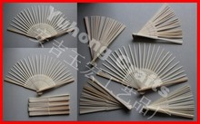 Nature hand folding bamboo frame ribs