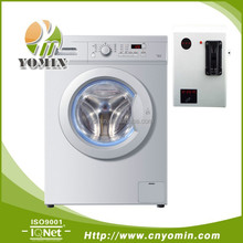 coin operated front load self service washing machine