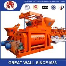Prezzo basso js2000 certificato ce planetario vendita calda betoniera, usato mercedes camion del miscelatore di cemento per la vendita