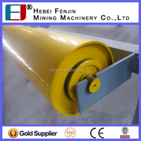 Low Noise Material Handling Steel Troughing Idler For Building Materials