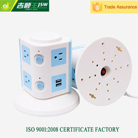 240V new 8-outlet smart strip power surge protector American type