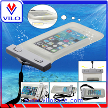 factory high quality universal pvc waterproof phone pouch for swimming