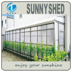 2015 Aluminum sunroom for sun shade outdoor living
