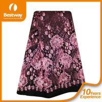 FL0034 new coming embroidery big lace african French Lace French Chantilly Lace very nice