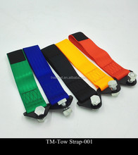 Colors car racing Universal wool farbictowing rope tow strap