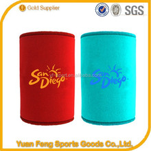 2015 hot sale logo printing fashion Neoprene cup sleeve insulated water bottle holder bag