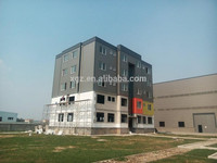 china hot sale long span safe steel prefab hotel building projects