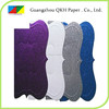 Factory direct sales wholesale hand made paper sticker paper self adhesive glitter paper