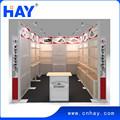 Reutilizable modular diseño stand y fabricación