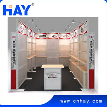 Reusable modular exhibition booth design and fabrication