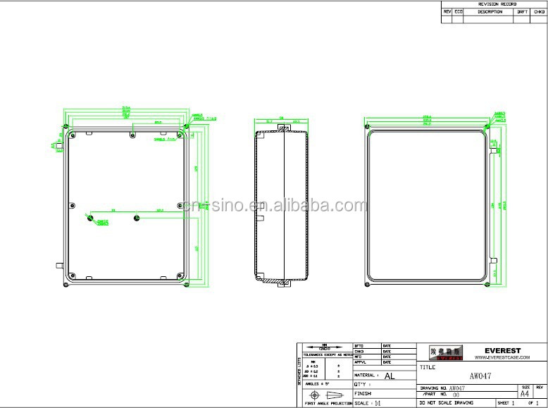 Electrical Detail Drawings Outdoor Electrical Cabinet